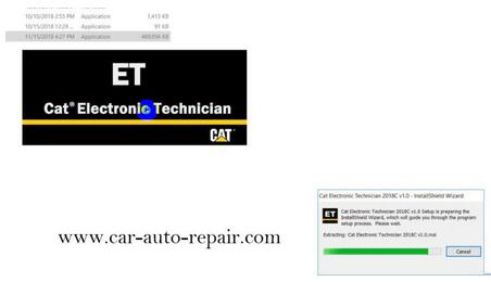 How to Install & Activate Cat Electronic Technician 2018C 3