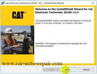 How to Install & Activate Cat Electronic Technician 2018C 4