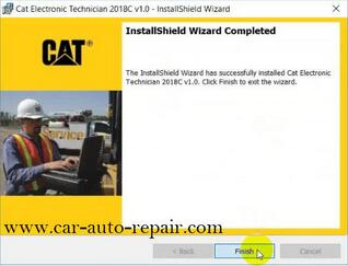How to Install & Activate Cat Electronic Technician 2018C 7
