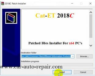 How to Install & Activate Cat Electronic Technician 2018C 9